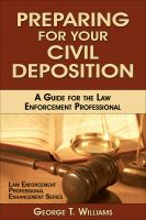 Thumbnail of Preparing for Your Civil Deposition book cover